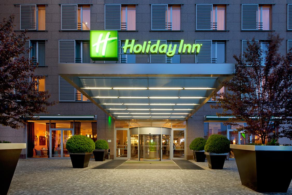 Holiday Inn Prague Congress Centre_Entrance