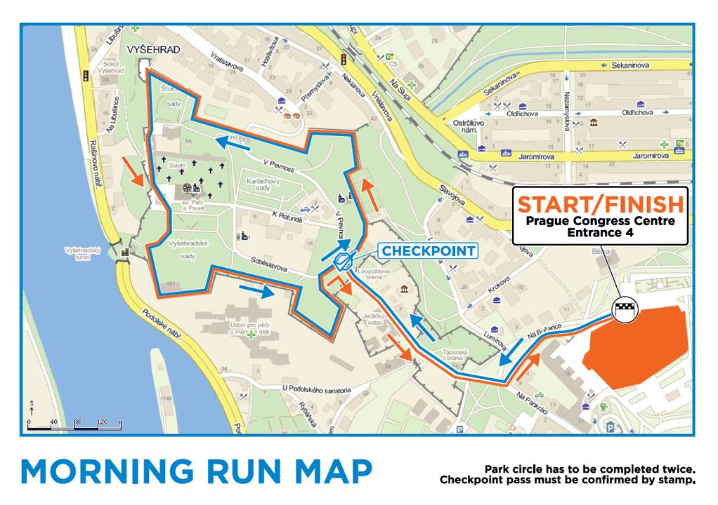 ESGO run map